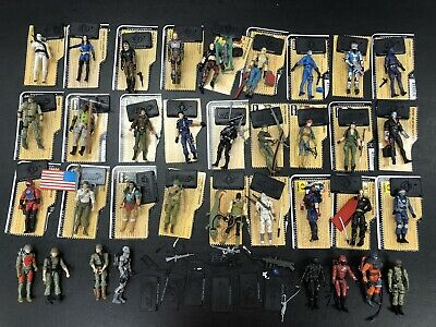 $ CDN629.41 • Buy 25th Gi Joe Cobra 35 Figures Lot Most Complete With File Cards 2008