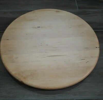 £7.99 • Buy Wooden Lazy Susan Turnable Table