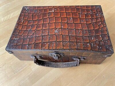 £8.99 • Buy Rare Vintage Suitcase Shaped Tin For Edmondson's Red Seal Toffee