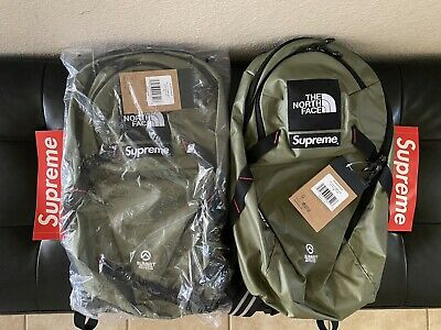 $ CDN121.46 • Buy Supreme The North Face Summit Series Route Rocket OLIVE Backpack SOLD OUT