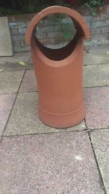 £39.99 • Buy Clay Chimney Pot With Built-in Cowl
