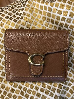 £45 • Buy Coach Tabby Tan Saddle Compact Small Purse Wallet RRP £125