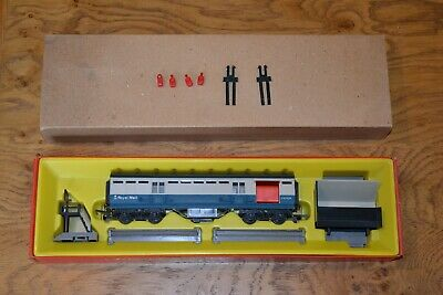 £99 • Buy Boxed TRIANG HORNBY R402M B.R BLUE/GREY OPERATING Royal MAIL COACH SET