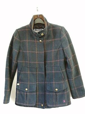 £120 • Buy Joules Mr Toad Field Coat Navy Tweed Jacket Country Sports - Size 12 - RRP £249