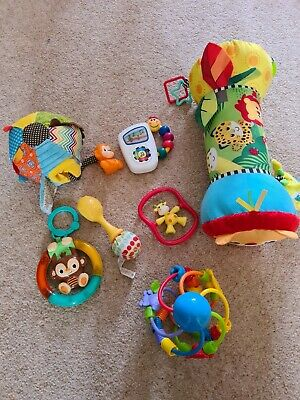 £7.99 • Buy Baby Toy Bundle With Tummy Time Roller
