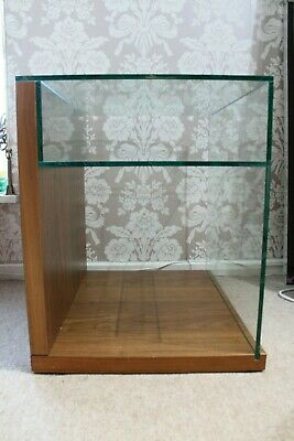 £95 • Buy Pair Of Bedside Tables Wood & Glass Used