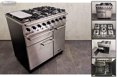 £1295 • Buy FALCON 900 DELUXE 90cm Dual Fuel FSD RANGE COOKER Stainless Steel Chrome (1u10m)