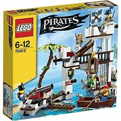 £109.99 • Buy New & Sealed LEGO Pirates 70412 - Soldiers Fort  Rare And Retired Set FREEPOST