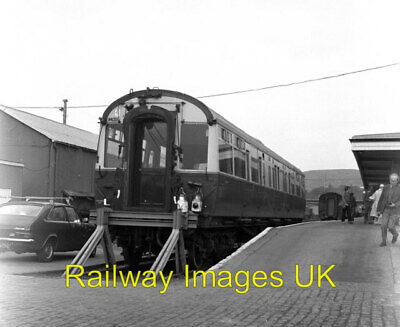 £1.60 • Buy Railway Photo - Observation Coach At Kyle Of Lochalsh Station C1979