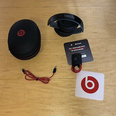 £47.99 • Buy Genuine Beats By Dr. Dre Studio 2 Wired Headphones Noise Cancelling Black V.G.C.