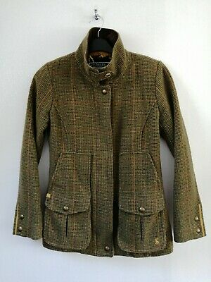 £99.99 • Buy Joules Mr Toad Field Coat Green Tweed Jacket Country Sports - Size 6 - RRP £249