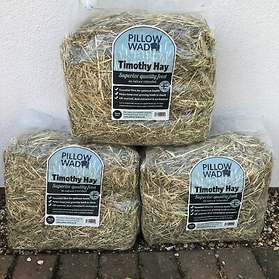 £23.99 • Buy 4 Timothy Hay High Fibre Low Protein HEALTH BOOSTER Rabbit Guinea Pig Chinchilla