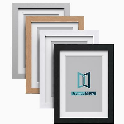 £5.11 • Buy A1 A2 A3 A4 White Black Oak Silver Photo Picture Poster Frames With White Mount