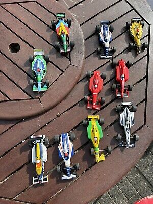 £80 • Buy 10 Scalextric F1 Cars, Scrapyard Spares Or Repair Plus 2 Set Of Tracks And Co