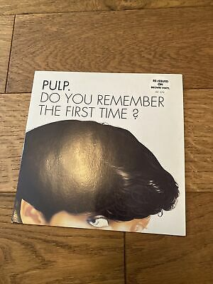 £35 • Buy Pulp Do You Remember The First Time? Limited Edition Brown Vinyl