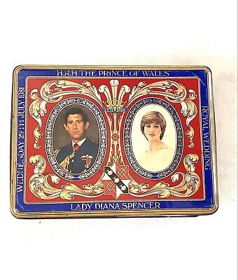 £5 • Buy Charles And Diana Royal Wedding Commemorative  Crawfords Biscuit Tin