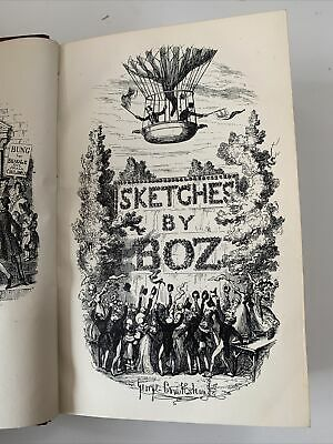 £0.99 • Buy Sketches By Boz Charles Dickens 1890 Chapman & Hall LOVELY CONDITION
