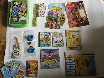 £5.99 • Buy Moshi Monsters Collectable Bundle Stationery Stickers TOP TRUMPS Cards 3D Eraser