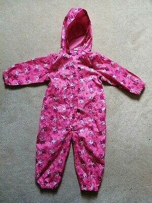 £10 • Buy Girls Pink Peppa Pig All In One Puddle Jumping Splash Suit Age 2-3 Years
