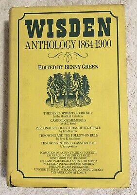 £7.99 • Buy WISDEN Anthology 1864 - 1900 Edited By Benny Green In Good, Used Condition