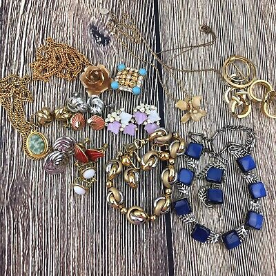 $ CDN56.03 • Buy Vintage Jewelry Lot 19 Pieces Signed Includes Napier Coro BSK & Others
