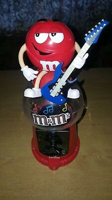 £10 • Buy M & M Red Candy / Sweet Dispenser Playing Guitar