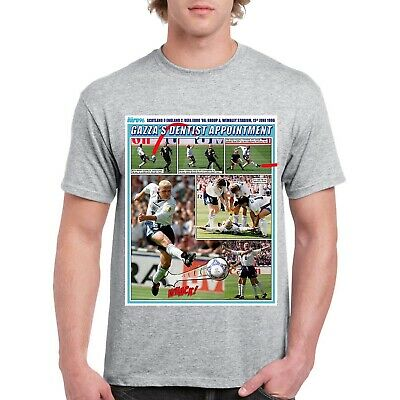 £14.99 • Buy Gazza Euro 96 England T-Shirt - Personalised Version Available