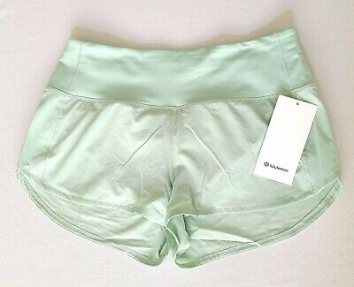 $ CDN47.37 • Buy Lululemon Speed Up HR Short 2.5  Size 12 Lined Mystic Mint MTCM NEW WITH TAGS!