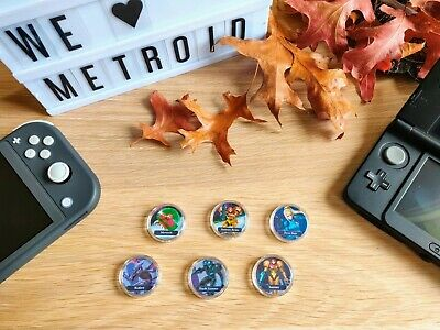 AU5.95 • Buy Metroid Series & Franchise Amiibo PICK ANY Of 6 Coins Card NFC Switch