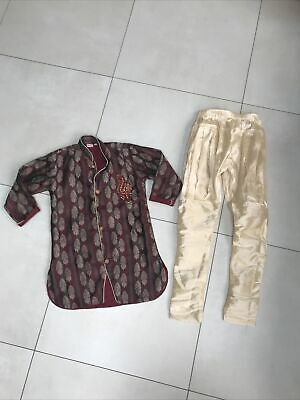 £15 • Buy Boys Indian Sherwani Outfit Bollywood Clothes Age 5