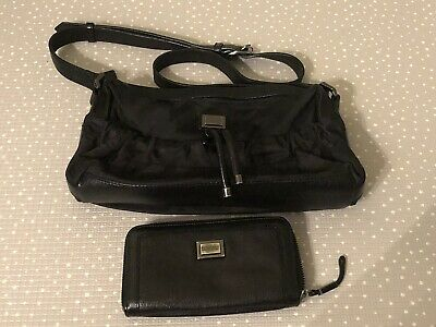 £165 • Buy Burberry Black Cross Body Bag And Wallet Great Condition