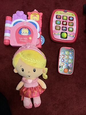 £12.50 • Buy Baby/ Toddler Musical & Educational Toy Bundle (Pink) Tablet, Phone, Musical Boo