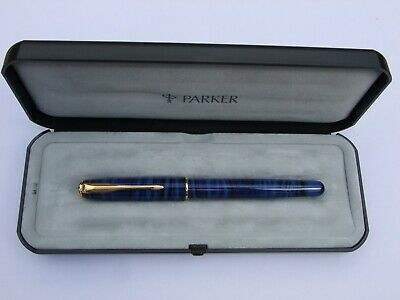 £59.99 • Buy Absolutely Stunning Mint Blue Laque Parker Sonnet In Presentation Case (M267)