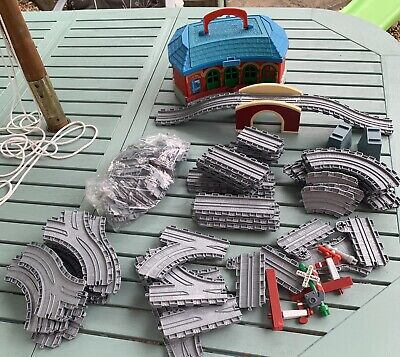 £10 • Buy Thomas & Friends Take N Play Track Pieces Tidmouth Sheds Over 54 Parts Bundle