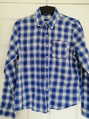 £1.50 • Buy Hollister Girls Checked Shirt Size L