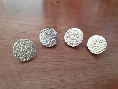 £30 • Buy 4x Real Pure Silver Arabic Coins Button's