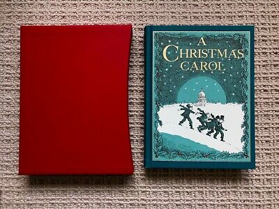 £25 • Buy A Christmas Carol By Charles Dickens (Folio Society Edition, Perfect Condition)