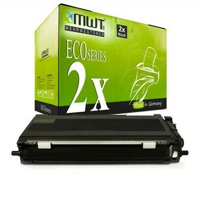 £23.61 • Buy 2x MWT Eco Toner Compatible For Brother MFC-7320-W DCP-7032 DCP-7040 HL-2170-N