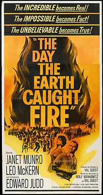 £2 • Buy The Day The Earth Caught Fire 1961 **classic Sci-fi Movie**