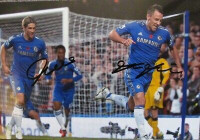 £45 • Buy Fernando Torres And John Terry Chelsea Signed Photo