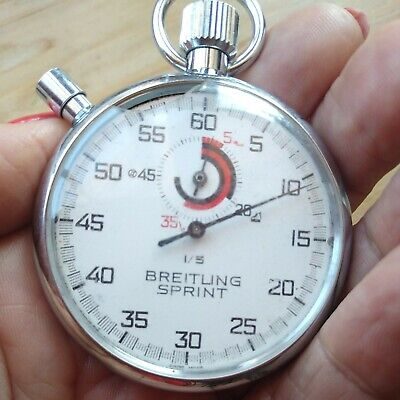 £16 • Buy Vintage Breitling Sprint Chronograph Stop Watch
