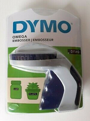 £11.99 • Buy Dymo Omega Embossing Home Label Maker Intuitive Turn-&-Click BNIBS0717930