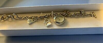£12 • Buy Limit Charm Bracelet Watch Boxed 4 Charms Attached