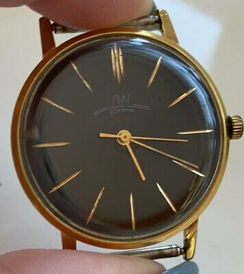 £44.99 • Buy Soviet Russian Watch Luch Ray ЛУЧ USSR СССР Mechanical 23 Jewels Goldplated AU20