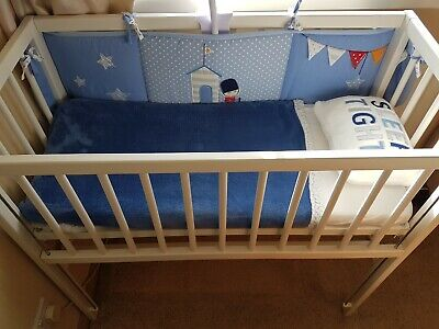 £25 • Buy Wooden Baby Crib, Bedside / Next To Me, Small Cot