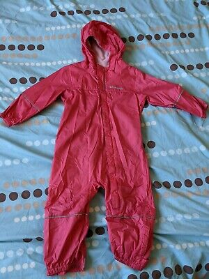 £2.50 • Buy 18-24 Months Columbia Waterproof Puddle Suit