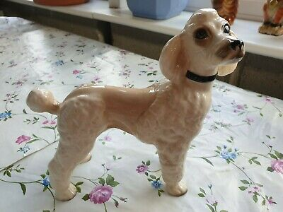 £9.50 • Buy Vintage Toy Poodle Ornament - Excellent Quality 8 Inches Tall