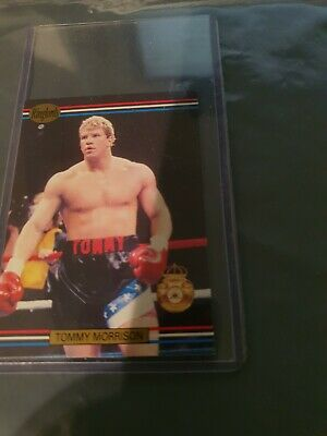 £1.50 • Buy Vintage Trade Card-Boxing- Tommy Morrison - Ringlords - 1991 - See Pics