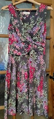 £2 • Buy Gorgeous Laura Ashley Ladies Occasion Shift Dress Size 12 Stretch