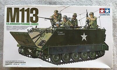 $10.50 • Buy Tamiya 1/35 M113 US Armoured Personnel Carrier Kit 35040 Box Opened Parts Sealed